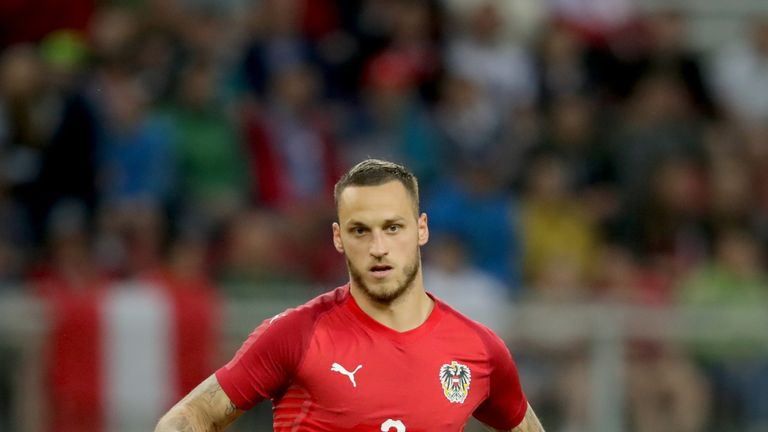 Marko Arnautovic has been called up by Austria