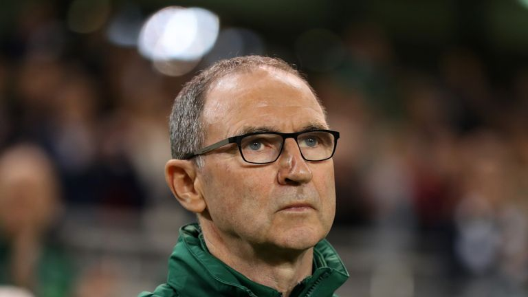 Martin O'Neill steps down as Ireland manager with assistant Roy Keane