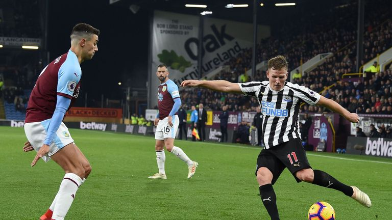 Matt Ritchie created Ciaran Clark's goal on Monday Night Football