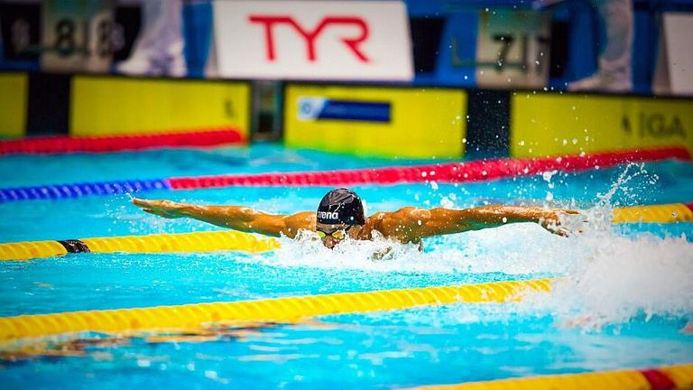 Gunning is hoping to inspire a new generation of swimming talent in the Caribbean