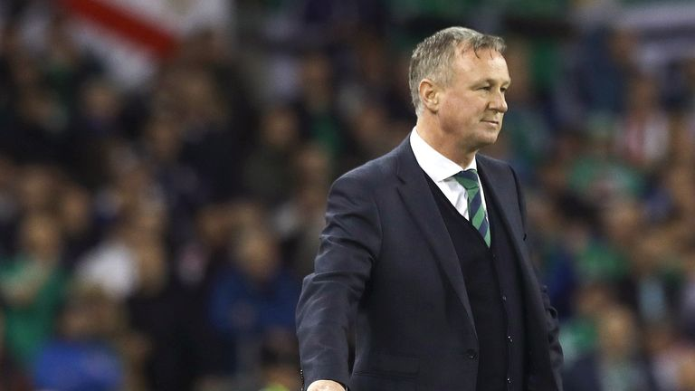 O'Neill is upbeat despite Northern Ireland's poor Nations League campaign