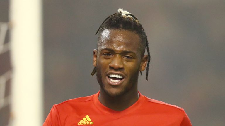 Michy Batshuayi is set to return to Chelsea from Spain