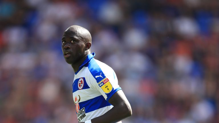 Mo Barrow is back for Reading