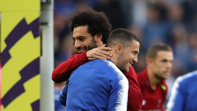 Lionel Messi reportedly wants Barcelona to sign Mohamed Salah or Eden Hazard
