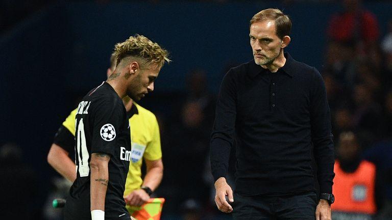 Thomas Tuchel says Neymar may return for Liverpool