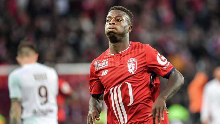 Nicolas Pepe is reportedly a Manchester City target