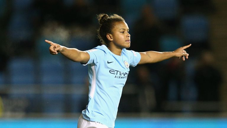 England international Nikita Parris is the WSL's all-time top scorer