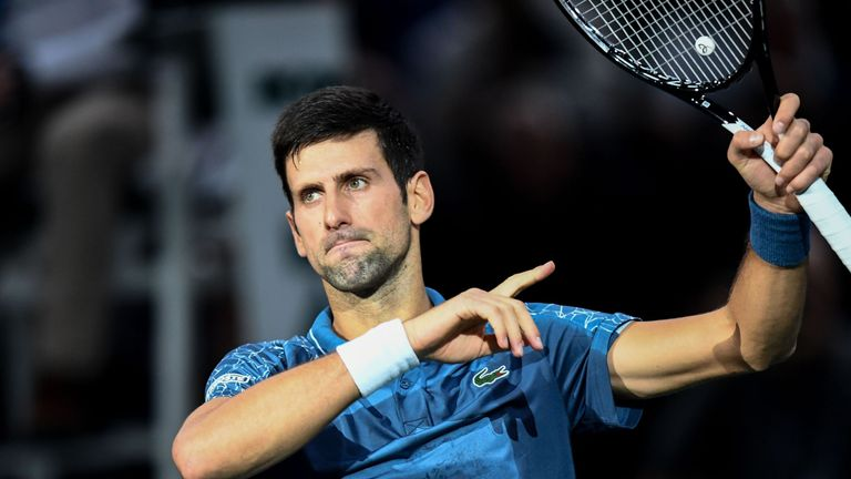 Novak Djokovic overcame a formidable examination from Marin Cilic