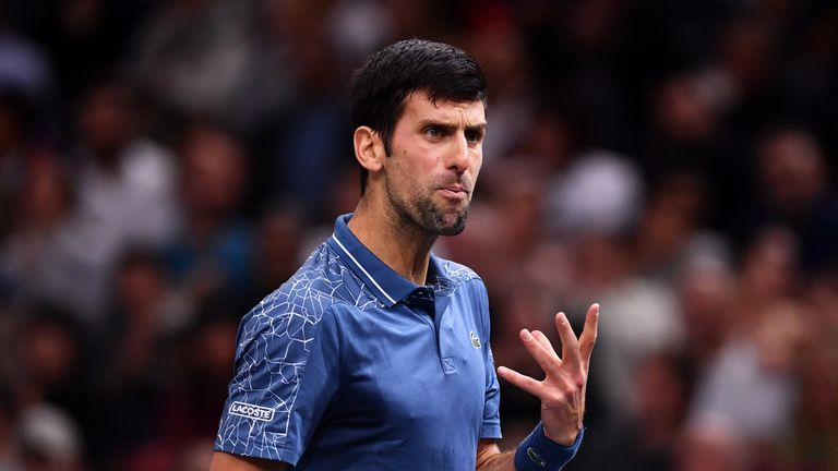 Novak Djokovic says the ATP Finals should be 'travelling more'