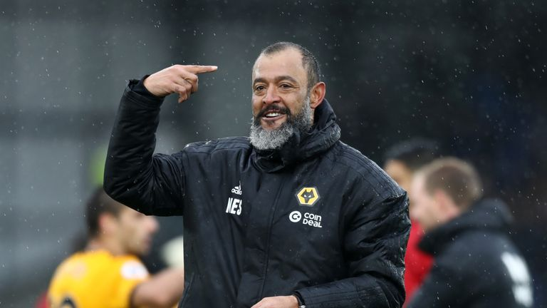 Nuno led Wolves to title glory in the Championship last season