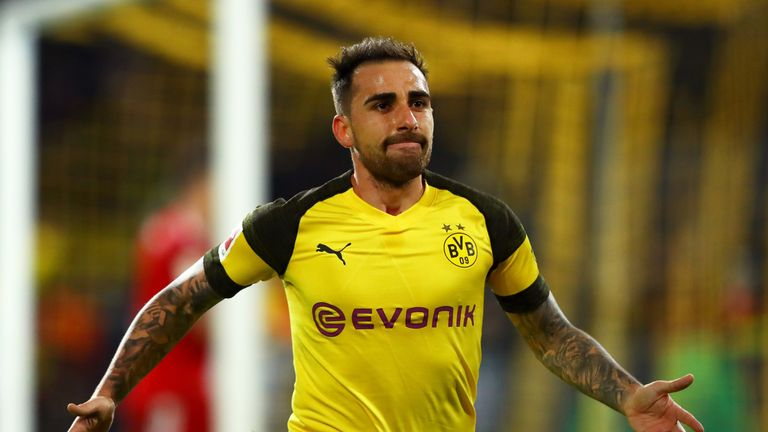 Borussia Dortmund have taken up option to buy Paco Alcacer
