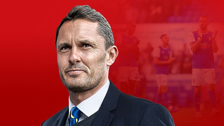 Former Ipswich Town manager Paul Hurst reflects on his time at Portman Road