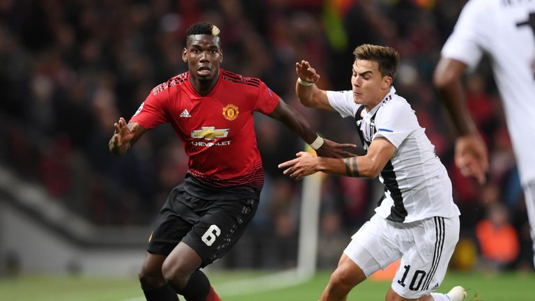 Paul Pogba faced former side Juventus last month and will return to Turin with Manchester United on November 7