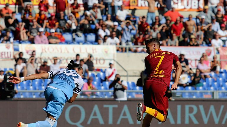 The Roma midfielder collected five assists and two goals in his 13 games so far, including a back-heel strike in the derby against Lazio