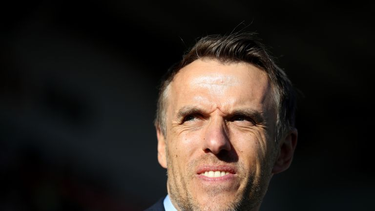 England Women manager Phil Neville takes his side to Swindon for a friendly with Spain