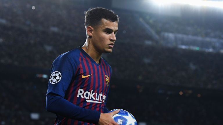 Philippe Coutinho joined Barcelona from Liverpool last January