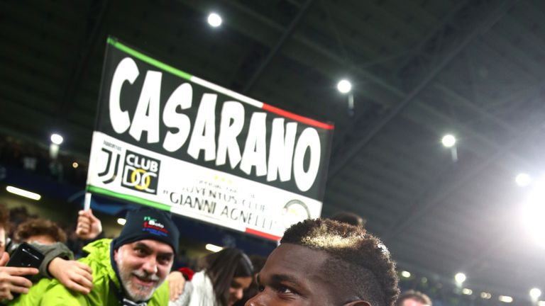 'It made me feel at home' - Pogba got a warm welcome at his old club Juve