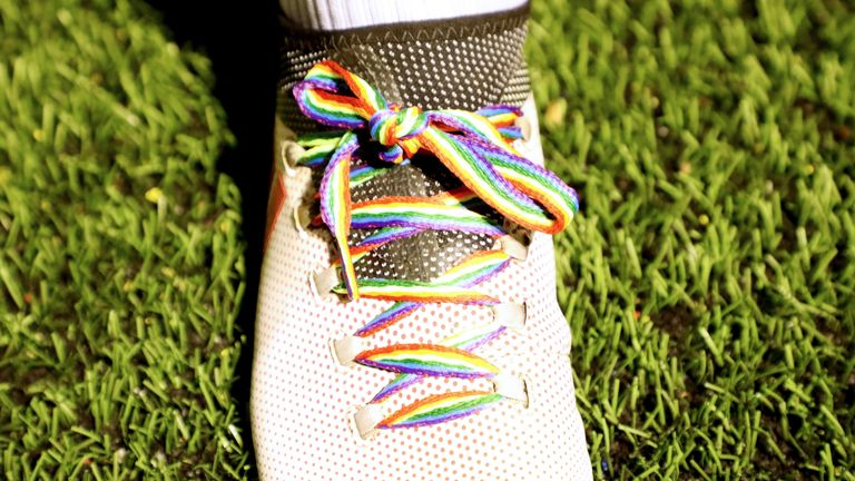 EFL clubs are currently in the middle of a week-long show of support for the Rainbow Laces campaign