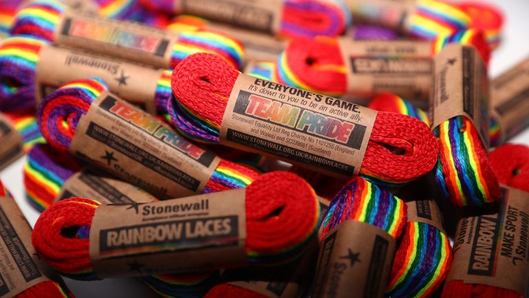 Wednesday November 28 is 'Wear Your Rainbow Laces Day', with all people encouraged to lace up in support of the campaign