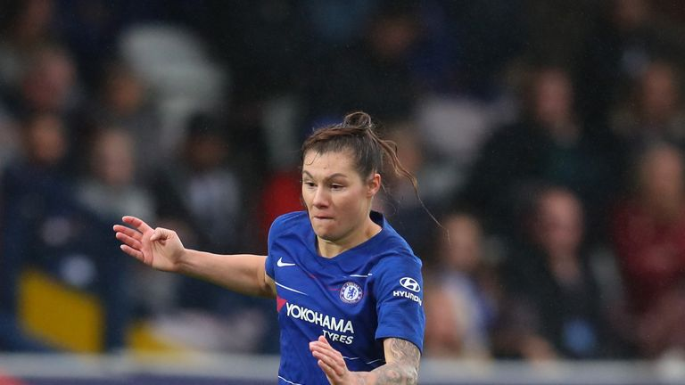Ramona Bachmann's double helped Chelsea on their way