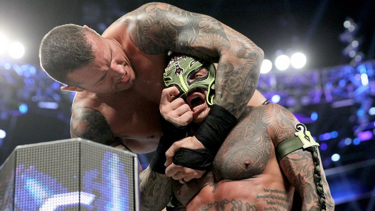 Randy Orton takes a break from his weekly assault of Rey Mysterio with a match against Jeff Hardy tonight