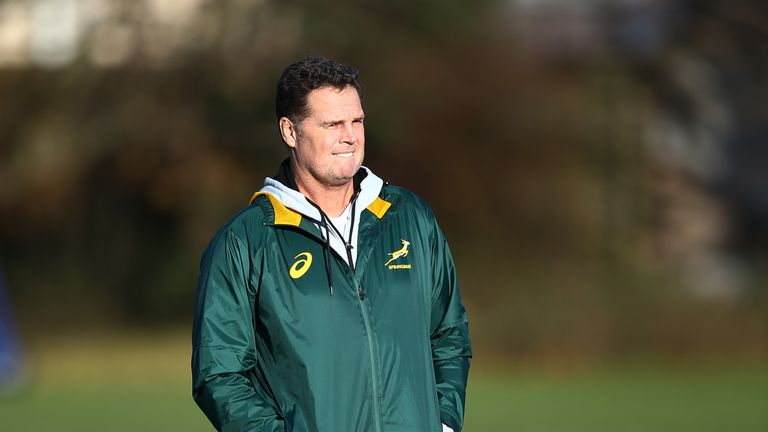 Rassie Erasmus has made a distinct difference to the set-up since taking charge