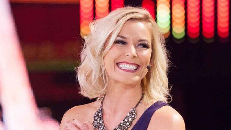 Renee Young was in Saudi Arabia and on commentary duty, as she unquestionably should have been