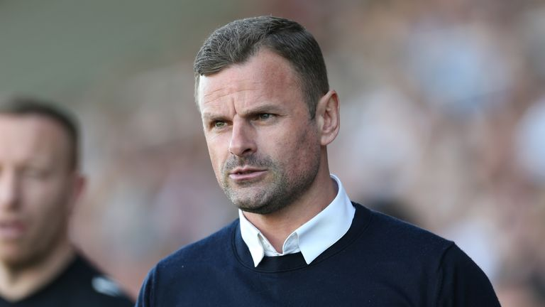 Richie Wellens took over from Phil Brown at Swindon in November 2018