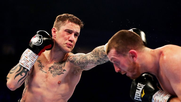 Ricky Burns returns to action on the same O2 bill