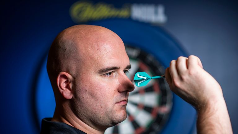 Rob Cross has his eyes fixed on the prize of another World Championship title - but it's been a very different year for Voltage