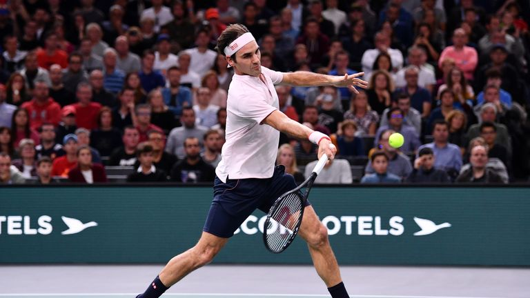 Federer's wait for a 100th career ATP crown moves to London