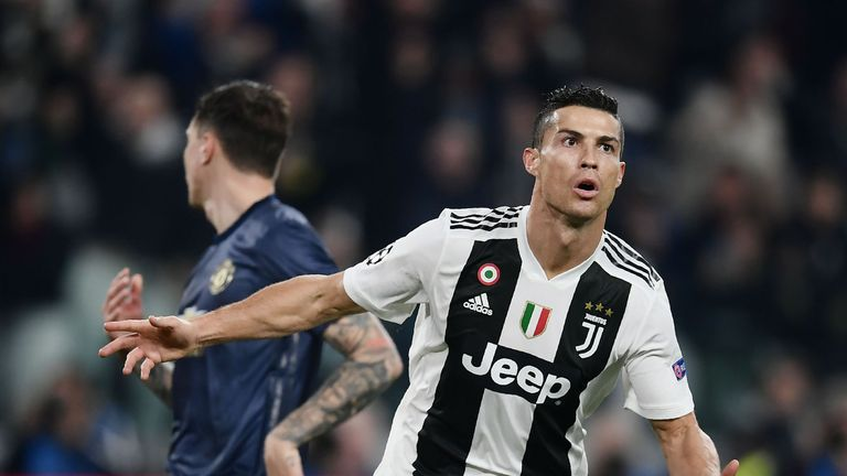 Ronaldo has scored 10 goals in Serie A