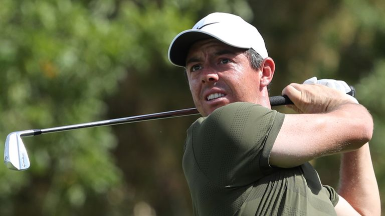 McIlroy is one of four players sharing sixth spot