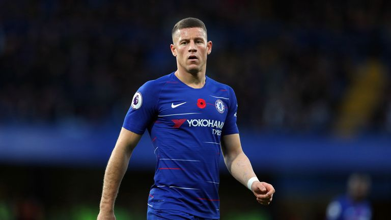 Ross Barkley features for Chelsea against his former side Everton