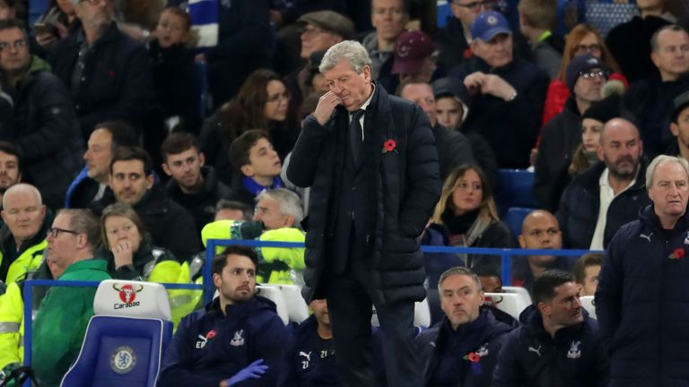 Roy Hodgson was dismayed that his side went pointless again despite another good performance.
