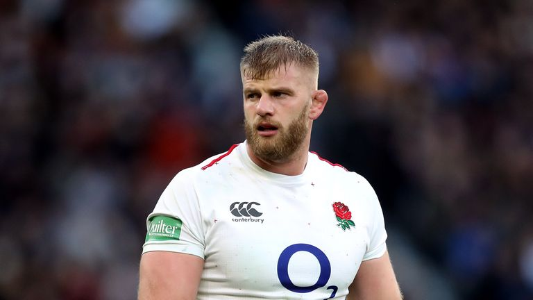 George Kruis has been capped 45 times for England
