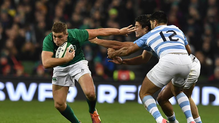 Ireland host the All Blacks next after seeing off Argentina