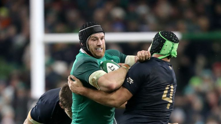 Sean O'Brien makes his first Ireland appearance in 12 months on Saturday