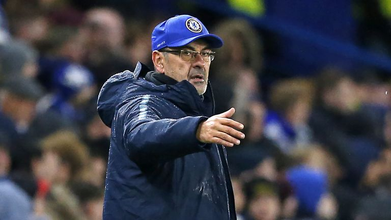 Maurizio Sarri says Hudson-Odoi isn't ready for Premier League
