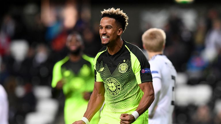 Scott Sinclair scored the only goal of the game in Norway