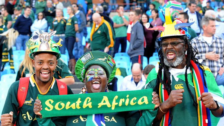 Springboks fans are some of the most passionate in the world