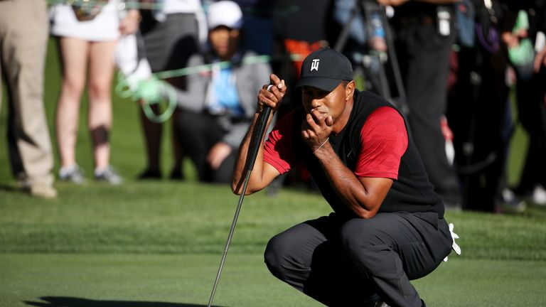 Woods finished second in the FedExCup standings in 2018