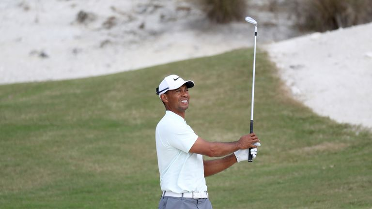 Woods closed with a double-bogey which took the gloss off a 69