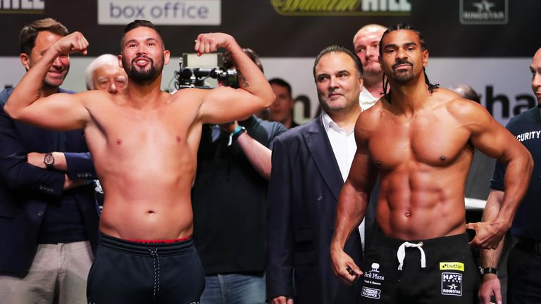 Bellew at heavyweight (15st)