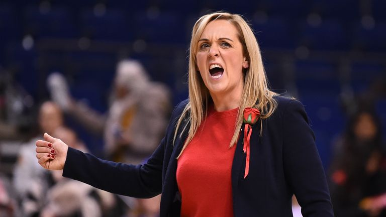 Tracey Neville's Roses are aiming to win a Netball Quad Series for the first time