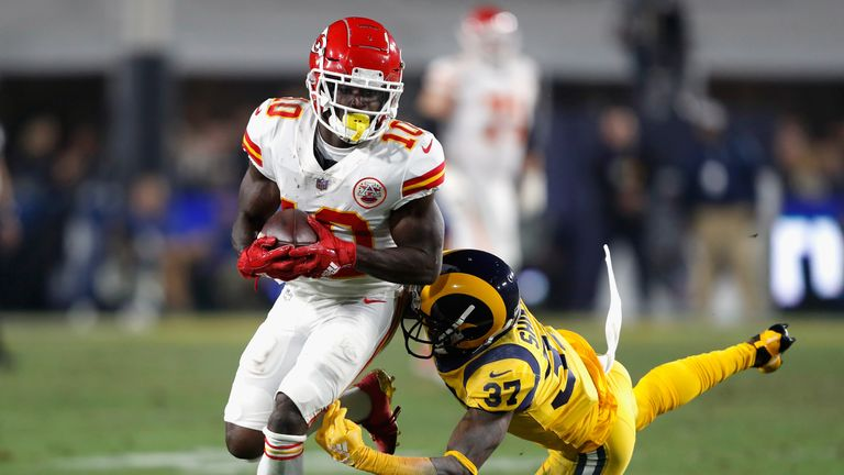 Will Tyreek Hill miss time for the Chiefs next season due to suspension?