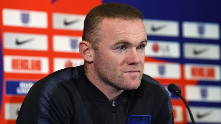 Wayne Rooney insists he has not made any demands for his final England bow
