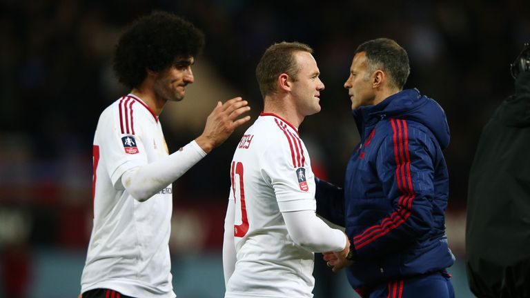 Wayne Rooney is an iconic player says Ryan Giggs