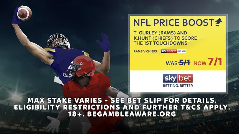 Sky Bet NFL Price Boost