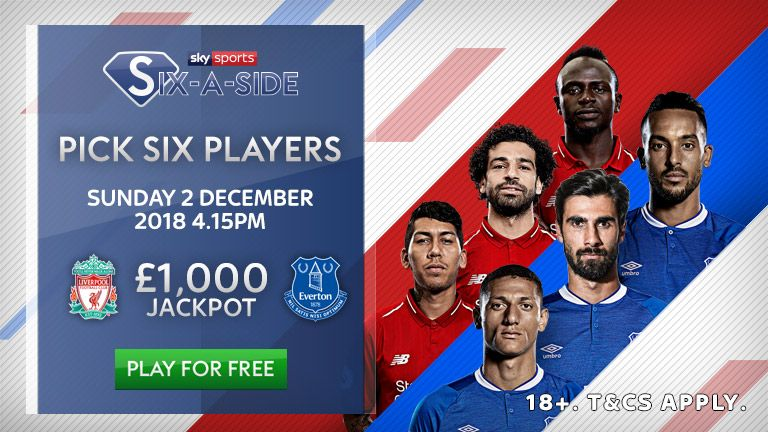 Liverpool v Everton: Sky Sports Six-a-Side